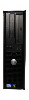 DELL Optiplex 380 DT PC Intel Pentium E5700 @ 3.0GHz 2 GB RAM 250GB DVD-ROM W7P