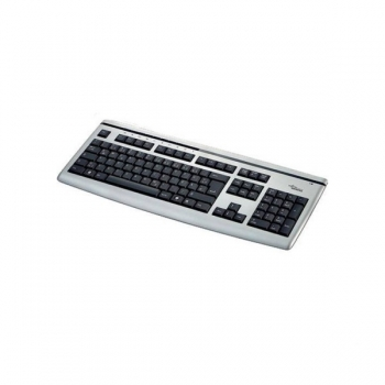 Fujitsu USB-Tastatur KB Slim MF Multimedia für PC