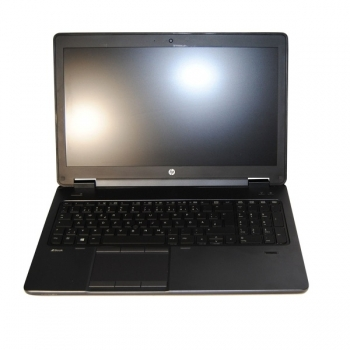 HP Zbook 15u G2 Full-HD i7-5500U 2.4GHz 8GB 128GB SSD + 1TB HDD AMD FirePro W10P - QWERTZ