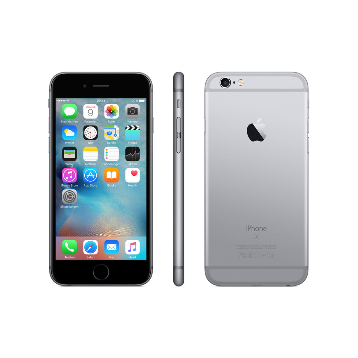 Apple iPhone 6s 64GB spacegrau gebraucht kaufen | 2tec-shop.de